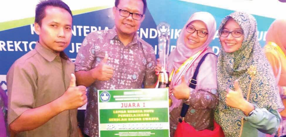 SDIT Nurul Fikri Kota Depok Juara I Lomba Budaya Mutu Tingkat Nasional 2016