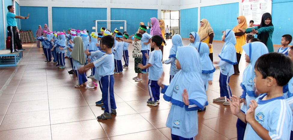 Calon Siswa SDIT Nurul Fikri Jajal Free Trial Class Program